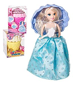JUINSA- Muñeca Reversible Ice Cream Princess 17cm, (96720)