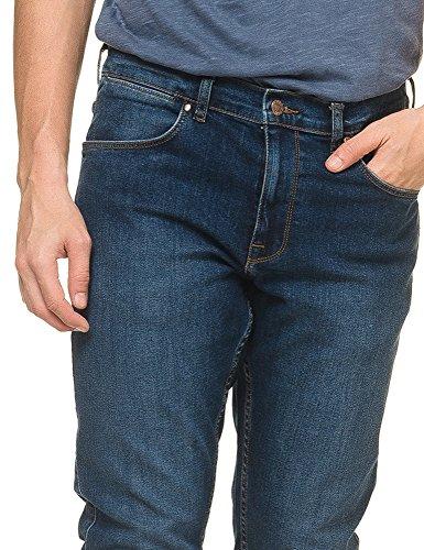 Dr Denim Jeansmakers Men's Clark Men's Blue Slim-Fit Jeans Cotton Blue