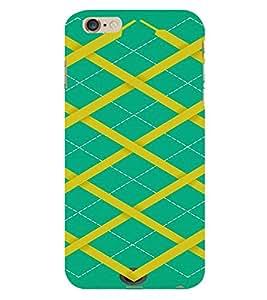 PrintVisa Sweater Design 3D Hard Polycarbonate Designer Back Case Cover for Apple iPhone 6 Plus