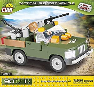 COBI- Small Army-TacticalSupport Vehicle (90 Pcs) Juguete, (COB02157)