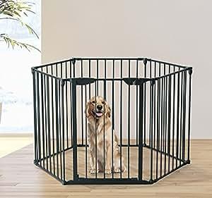 Pawhut recinto gabbia per cani e animali domestici 360 for Recinto per cani amazon