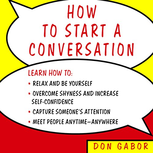 How to Start a Conversation  Audiolibri