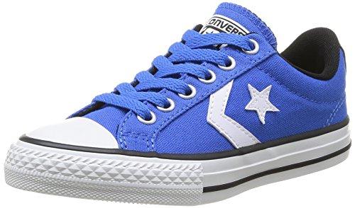 Converse Star Player Ox, Unisex - Kinder Sneaker Blau - Bleu (Bleu/Blanc)