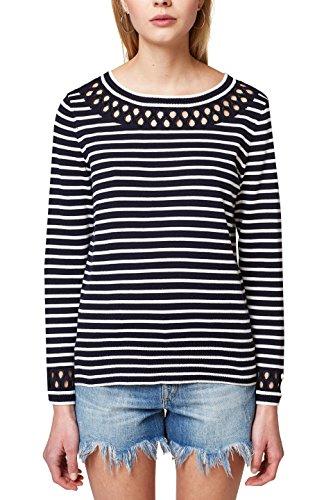 edc by ESPRIT Damen 038CC1I020 Pullover, per Pack Blau (Navy 400), Medium (Herstellergröße: M)