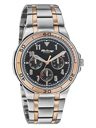 Titan Analog Black Dial Men's Watch-NK90039KM02