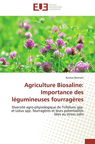 Agriculture biosaline: importance des légumineuses fourragères par Kawtar Bennani