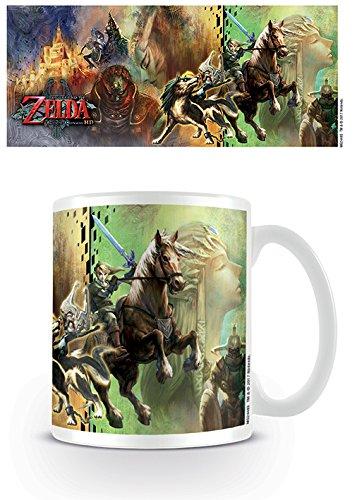 The Legend Of Zelda: Twilight Princess HD MG24485 Mug, Céramique, Multicolore, 11oz/315ml