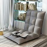 Sitzsäcke Faltbares einzelnes Kleines Sofa-faules Sofabett-Rückenlehne-Stuhl-Balkon-faltendes Kissen-Sofa-Stuhl (Farbe : I)