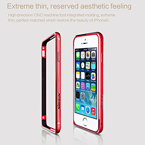iPhone Case Cover NILLKIN Série Gothique pour iPhone 6 & 6s ( Color : Red ) Red