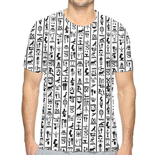 vertikale Grenzen mit den kulturellen Hieroglyphen-Alphabet-Alten Sprachsymbolen ()
