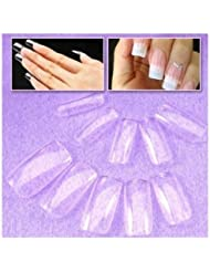 SODIAL(R) 500 x faux ongles transparents