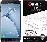 Chevron SAMSUNG Galaxy On Nxt Ballistic Nano Tempered Glass Screen Protector Scratch Free Slim Guard