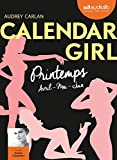 calendar girl 2 printemps avril mai juin livre audio 1 cd mp3