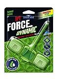 12er Pack. WC Grünspüler Tri Force Dynamic Intensive Duft , Aktivschaum- und Wasserfärbung Dynamischer Grün - Waldduft (12x45g.)