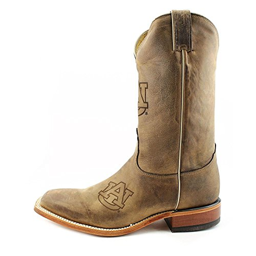 Nocona Mississippi State Branded Hommes Cuir Santiags brown
