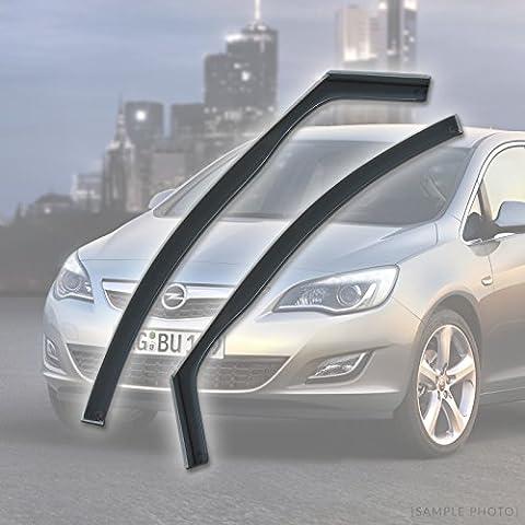Vauxhall Astra J (2010 onwards 4DR FRONTS) Wind Deflectors Rain Wind Window Deflectors