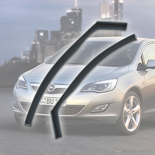 Fully Tailored Wind / Rain Deflectors / Includes Clips Adhesive and Instructions (FRONTS ONLY)