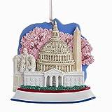 Kurt Adler Washington D.c. Scene Resin Christmas Ornament