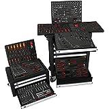 bigboy V2Taller carro caja de herramientas Combinación–Relleno de herramienta de mano, 10cajones–8lleno | Bit Sets, 813, nueces y mucho más...