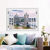 ytwww123 Wandtattoo Landschaftsansicht London Tower Bridge