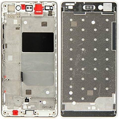 Piezas de repuesto de teléfonos móviles, iPartsBuy frontal de la carcasa del LCD de la placa del bisel del capítulo para Huawei P8 Lite ( Color : Oro )