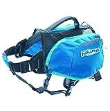 Kyjen 22003 Outward Hound DayPak Hunde-Rucksack Tasche im Satteltaschenstil, verstellbar, Größe M, blau