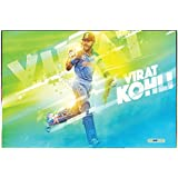 Pics And You Cricket Virat Kohli 161 Wall Poster (300gsm Art Paper, 12x18 Inches) - WPSP161