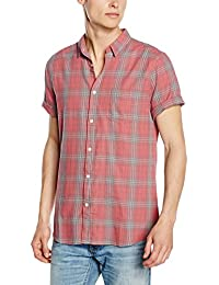 New Look Washed Check, Camisa para Hombre