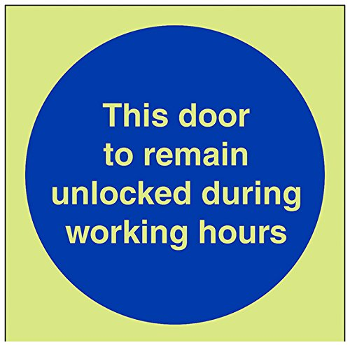 vsafety-18032af-g-mandatory-sign-this-door-to-remain-unlocked-during-working-hours-plastic-square-10