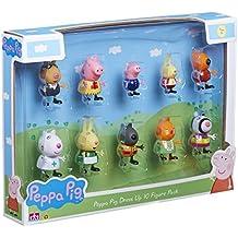 Peppa Pig 06529figura con pegatinas (Pack de 10)
