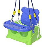 #10: HALO NATION 5 In 1 Baby Feeding Seat , Booster Seat , Baby Swing, Car Seat for Toddlers - Green