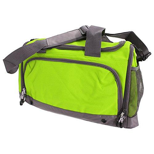 BagBase - Borsone Sportivo 30 Litri Verde lime