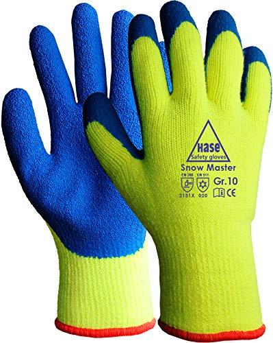 strongAnt - SNOW MASTER, Arbeitshandschuhe Thermo Winter-Handschuhe für Montage. Handschuh Nahtloses Acrylgestrick - Größe: 8