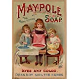 Image of 1971 EXTRA LARGE MAYPOLE SOAP VINTAGE STYLE METAL ADVERTISING WALL SIGN RETRO ART - Comparsion Tool