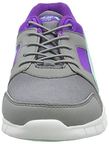 Gola Mädchen Santo Toggle Outdoor Fitnessschuhe Grau (Grey/purple/mint)