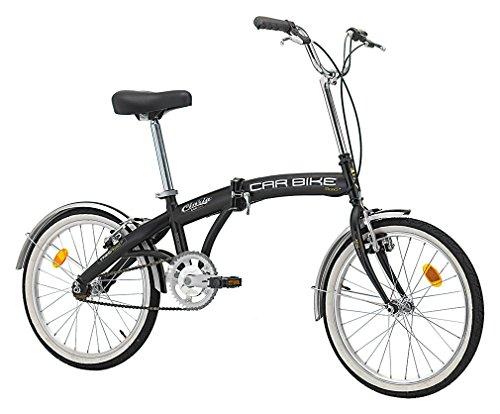 Cicli Cinzia Klappfahrrad Car Bike Stahl 20 Zoll schwarz