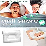 NIGHTS Anti-Snore Snooze Control Orthopedic Hollowfibre Luxury Pillow for Head Support & Headache