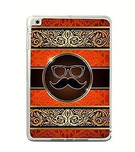 Moustache Uncle 2D Hard Polycarbonate Designer Back Case Cover for Apple iPad Mini 4 :: Apple iPad Mini 2 :: Apple iPad Mini 2 Wi-Fi + Cellular :: Apple iPad Mini 3 :: Apple iPad Mini 3 Wi-Fi + Cellular