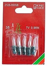 Konstsmide 2125-050SB Ampoule, Acrylique, 2G7, 25 W, Clair