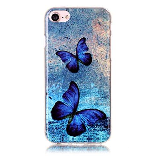"""inShang Hülle für iPhone 7 4.7"""" ,Ultra Schlank und leicht TPU Bequem Schutzhülle Rückcover (Back Case) design für Handy iPhone7 4.7 inch, 35"""