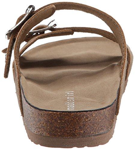 Madden Girl Brando Slide-sur Sandal Taupe Fabric