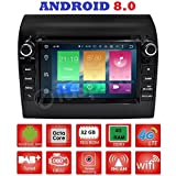 Android 8.0 GPS DVD USB SD WI-FI Bluetooth MirrorLink Autoradio FIAT Ducato/Citroen Jumper/Peugeot Boxer