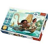 Trefl - Disney Vaiana - Puzzle 160 pezzi per bambini