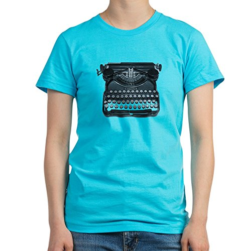 Antique typewriter T-Shirt - Women's Fitted T-Shirt, Soft