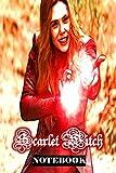 Scarlet Witch: Wanda Maximoff Marvel Women Superhero Notebook Journal 6 x 9 Inches