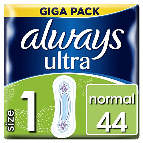 Always Ultra Normal Binden (Größe1),  3er Pack (3 x 44 Stück)