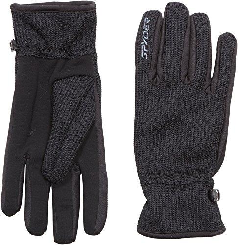 Spyder Core Sweater Conduct Paire de gants pour homme S, M, L ou XL Noir - Noir/ardoise