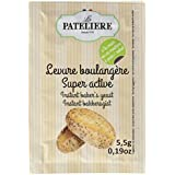 LA PATELIERE Levure Boulangère Super Active 5 Sachets 28 g -