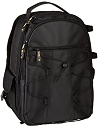 AmazonBasics Backpack for SLR Cameras and Accessories - Black