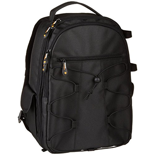 dslr rucksack AmazonBasics DSLR-Kamerarucksack für Spiegelreflexkameras und Zubehör schwarz